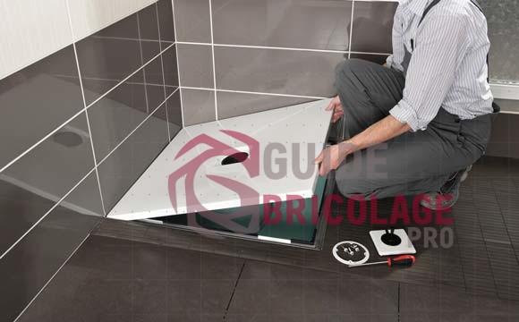 Comment poser un receveur de douche  ?