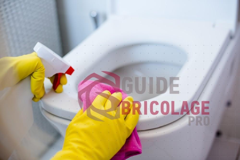 Éliminer les bactéries de vos WC