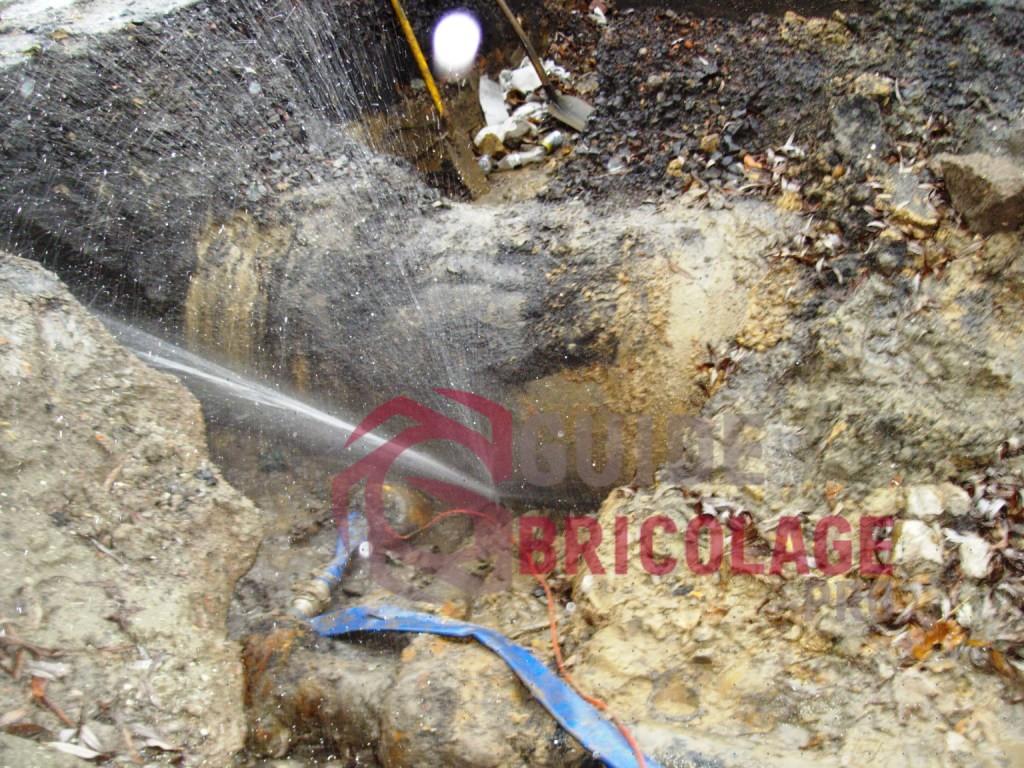 Comment trouver une fuite d'eau cachée ?
